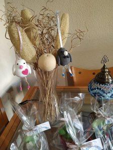 Pájaros de amigurumi